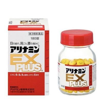 【第3類医薬品】【武田薬品】アリナミンEXプラス 180錠 ※お取り寄せにな・・・