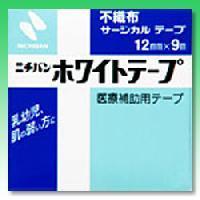 【ニチバン】ニチバン ホワイトテープ 12mm×9m