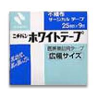 【ニチバン】ニチバン ホワイトテープ 25mm×9m