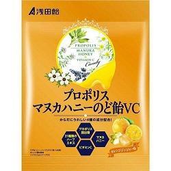 【浅田飴】プロポリスマヌカハニー のど飴VC 60g ※お取り寄せ商品