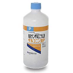 【第3類医薬品】【健栄製薬】ザルコニン液P 500ml ※お取り寄せになる場合・・・