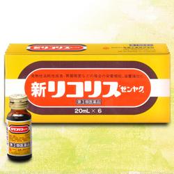 【第2類医薬品】【全薬工業】新リコリス「ゼンヤク」 20ml×6本・・・