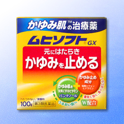 【第3類医薬品】【池田模範堂】ムヒソフトGX 100g ※お取り寄せになる場合・・・