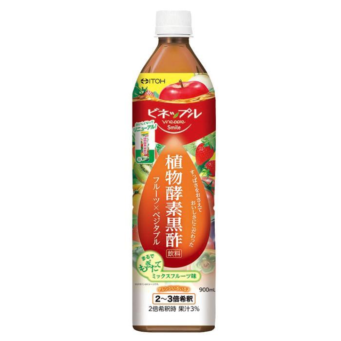 【井藤漢方製薬】ビネップルスマイル 植物酵素黒酢飲料 900mL ※お取・・・