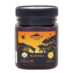 【日新蜂蜜】マウントサマーズ ニュージーランド産 マヌカハニー 250g UMF5+ ※お取り寄せ商品