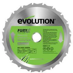 エボリューション【EVOLUTION】万能切断チップソー 210mm 210TCT★【FURY3 FU・・・