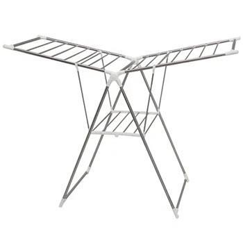 アイリスオーヤマ【IRIS】組み立ていらず 多機能物干しスタンド 折りたたみ式・・・