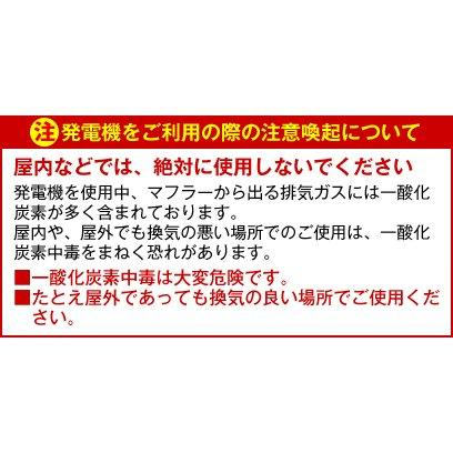 HPG3000i) ワキタ ロンシン インバーター発電機 商品画像11:ニッチ・リッチ・キャッチKaago店
