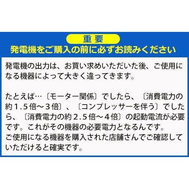 HPG3000i) ワキタ ロンシン インバーター発電機 商品画像12:ニッチ・リッチ・キャッチKaago店