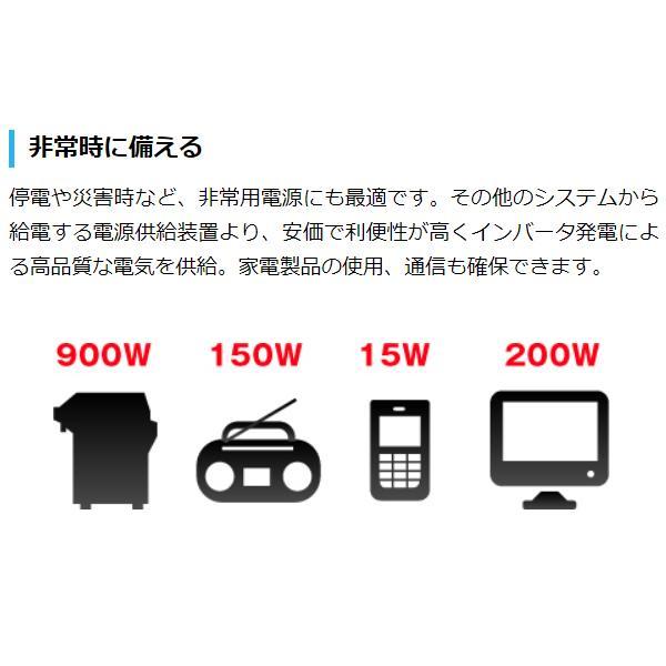 HPG3000i) ワキタ ロンシン インバーター発電機 商品画像6:ニッチ・リッチ・キャッチKaago店