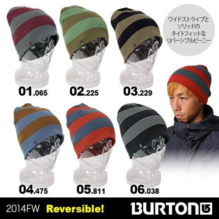 【BURTON/バートン】メンズ シングルニット帽子 10475101