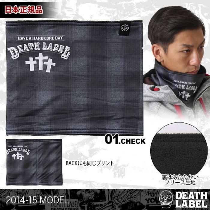 【DEATH LABEL/デスレーベル】メンズ&レディース ネックウォーマー{15_NECK・・・
