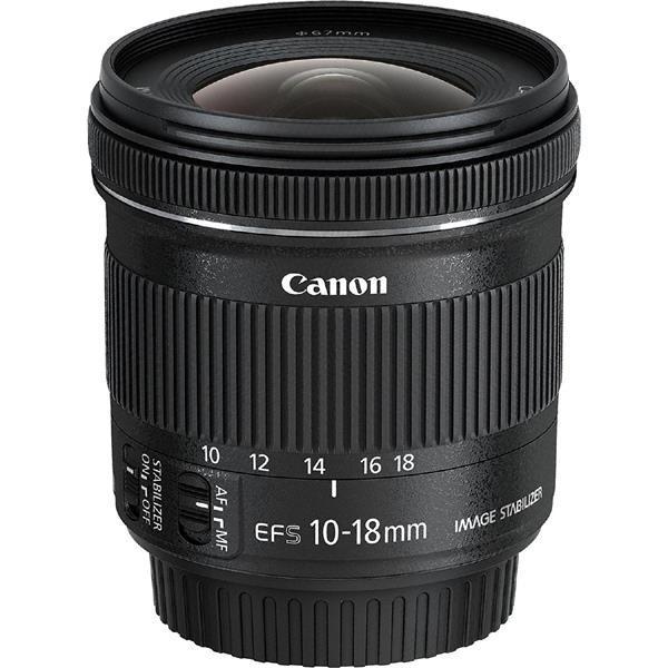 EF-S10-18mm F4.5-5.6 IS STM