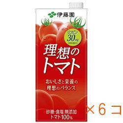 理想のトマト 1L紙パック(ケース)