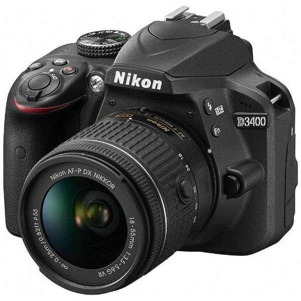 D3400 18-55 VR レンズキット ブラック
