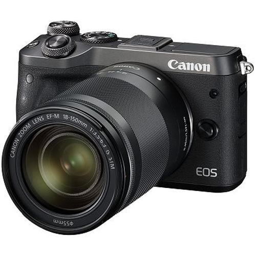 EOS M6 EF-M18-150 IS STM レンズキット ブラック