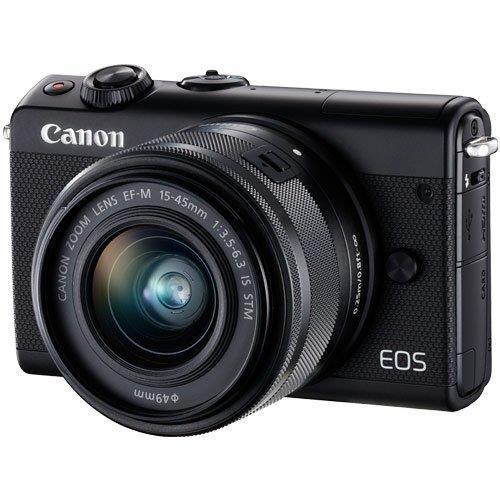 EOS M100 EF-M15-45 IS STM レンズキット ブラック