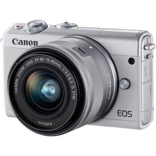 EOS M100 EF-M15-45 IS STM レンズキット ホワイト
