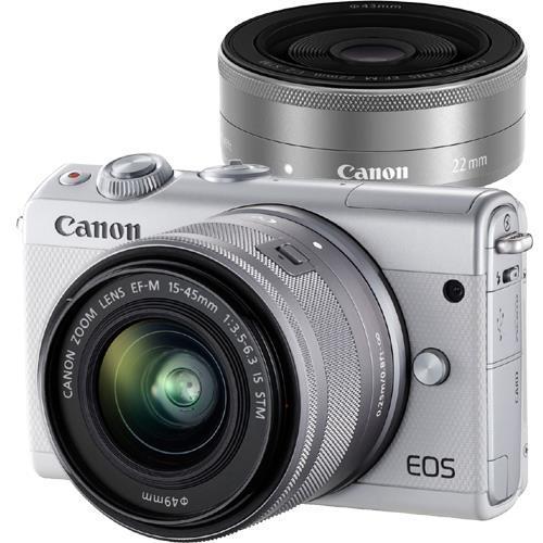 EOS M100 ダブルレンズキット ホワイト