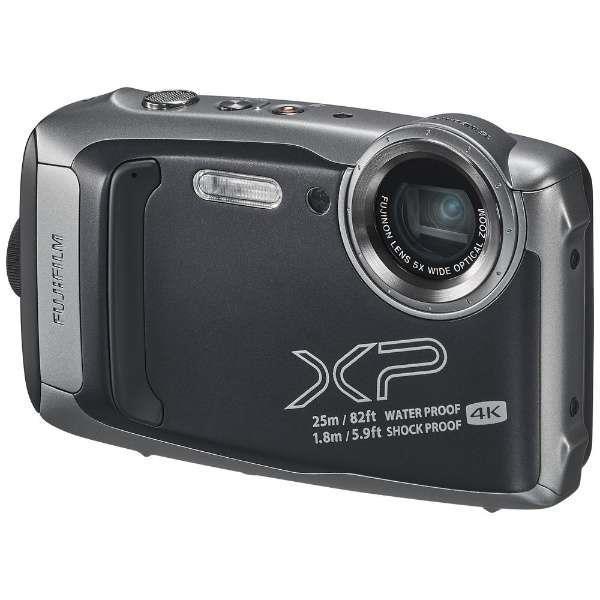 FinePix XP140 ダークシルバー