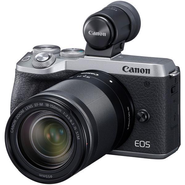EOS M6 Mark II EF-M18-150 IS STM レンズEVFキット シルバー