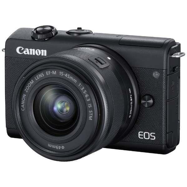 EOS M200 EF-M15-45 IS STM レンズキット ブラック
