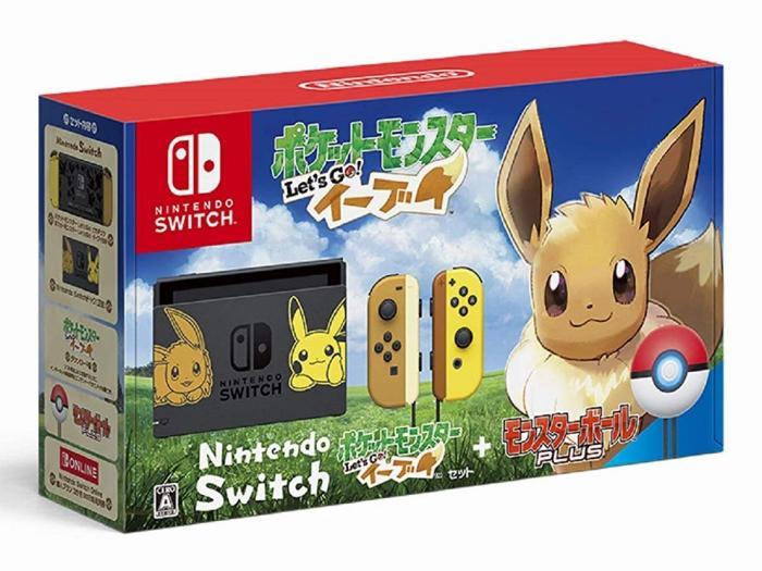 Nintendo Switch ポケットモンスター Let's Go! イーブイセット【アウトレッ・・・
