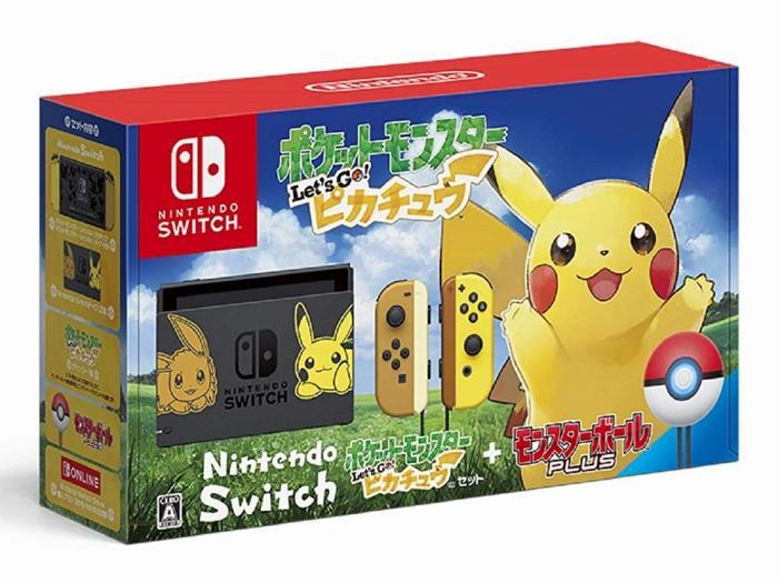 Nintendo Switch ポケットモンスター Let's Go! ピカチュウセット【アウトレ・・・