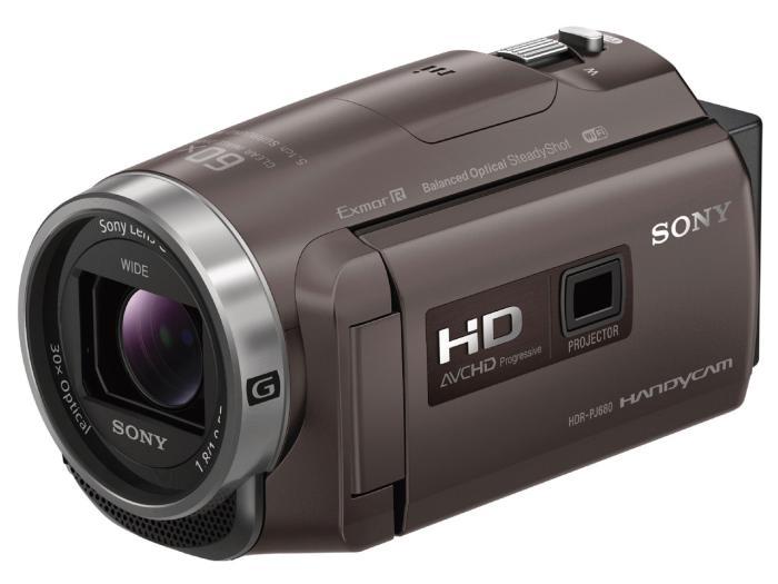 HDR-PJ680 (TI) [ブロンズブラウン] 特価品