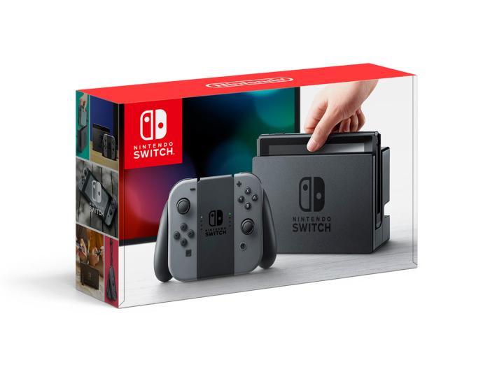Nintendo Switch [グレー]【アウトレット 状態 S】:パニカウ