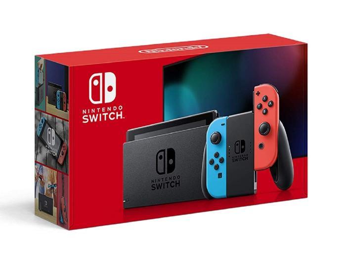 Nintendo Switch HAD-S-KABAA [ネオンブルー・ネオンレッド] 商品画像1:パニカウ