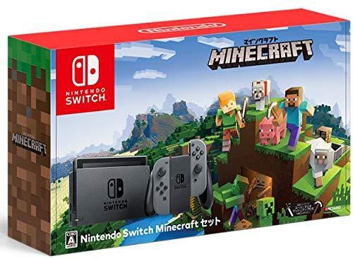 Nintendo Switch Minecraftセット【アウトレット 状態 S】