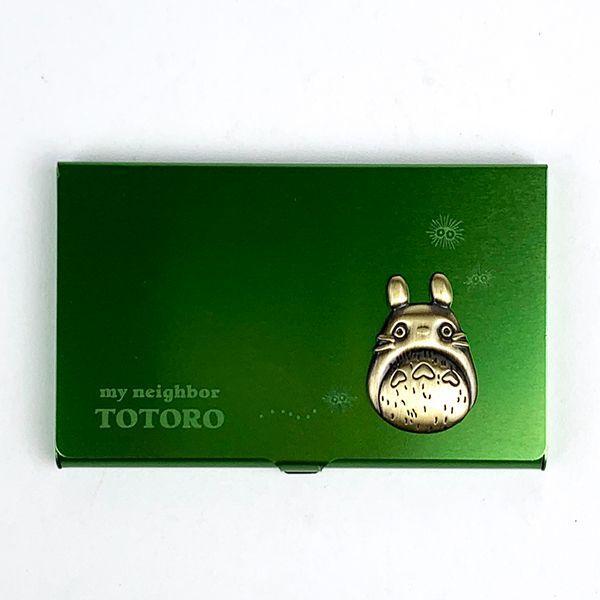 となりのトトロ-メタルカードケース-グリーン-ジブリ-カードケース-名刺入れ-カード入れ-クラシカル