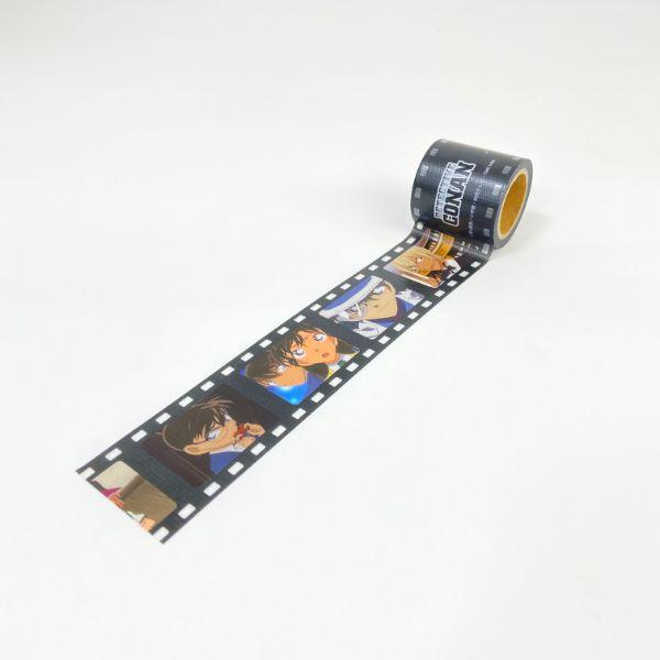 名探偵コナン-養生テープ-場面写A-テープ-YOJO-マスキングテープ-文具-ブラック-グッズ