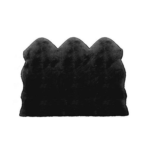 BMS LD-02BK ブラック [ラグジュアリームートン ワイドシートカバー (短毛./・・・