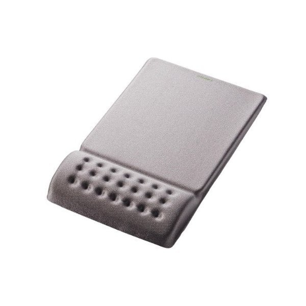 ELECOM MP-095GY グレー COMFY [疲労軽減リストレスト一体型マウスパッド ソ・・・