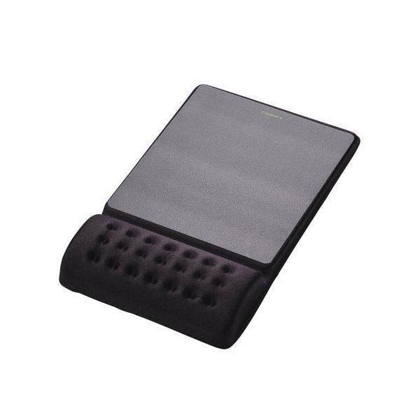 ELECOM MP-096BK ブラック COMFY [労軽減リストレスト一体型マウスパッド ハ・・・