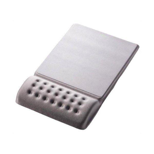 ELECOM MP-096GY グレー COMFY(カンフィー) [リストレスト一体型マウスパッド・・・
