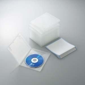 ELECOM CCD-BLU110CR クリア [Blu-rayディスクケース(1枚収納・10枚セット・・・・