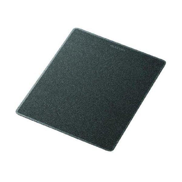ELECOM MP-108BK ブラックメタリック [レーザーマウス用マウスパッド]
