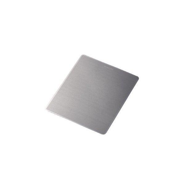 ELECOM MP-112BK ダークシルバー [メタリックマウスパッド]