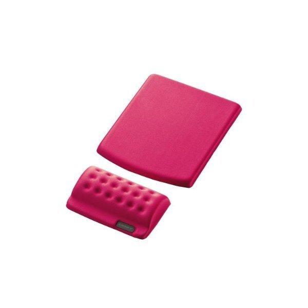 ELECOM MP-114PN ピンク COMFY(カンフィー) [リストレスト+マウスパッド]