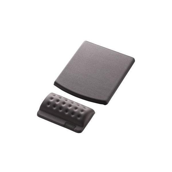 ELECOM MP-114GY グレー COMFY(カンフィー) [リストレスト+マウスパッド]