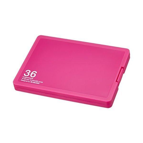 ELECOM CMC-SDCPP36PN ピンク [メモリカードケース/インデックス台紙付き/SD1・・・