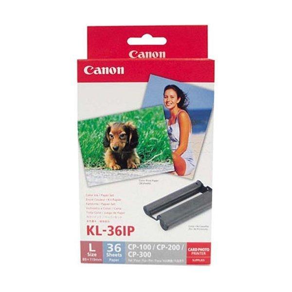 Canonキヤノン カラーインク/ペーパーセット KL-36IP (Lサイズ36枚分) 商品画像1:PREMOA