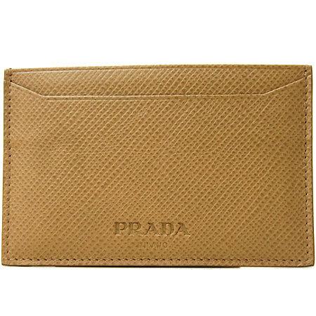 プラダ PRADA カードケース 2M0208 カード入れ マチなし SAFFIANO CUIR(サフ・・・
