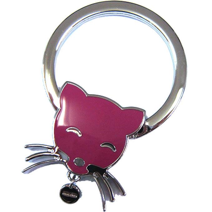 ミュウミュウ miumiu キーホルダー 5AP705 猫 キーリング PEONIA 5ap705-cat-・・・