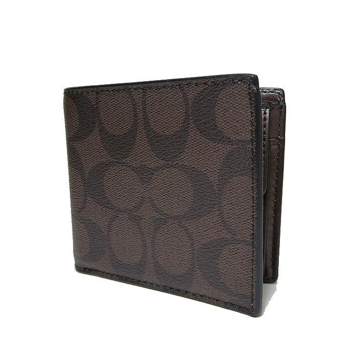 678d2021d7e2 コーチ COACH 財布 F75006 シグネチャー PVCコイン ウォレット 二つ折り財布(小銭入れ有り)