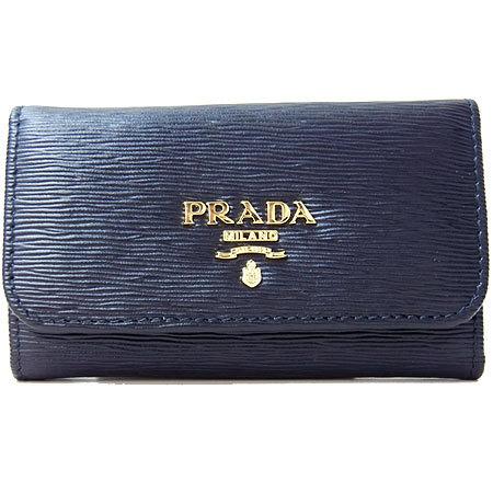 プラダ PRADA キーケース 1PG222 型押しレザー NERO 1pg222-vi_mo-nero