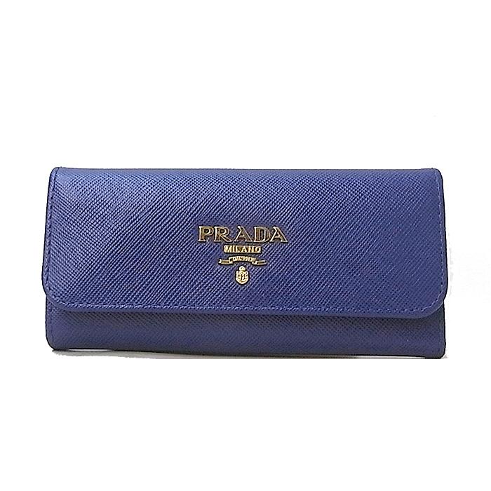 プラダ PRADA キーケース 1PG223 サフィアーノ BLUETTE 1pg223-saf-bluette
